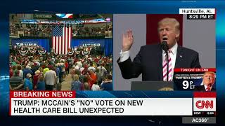 Trump: Media won