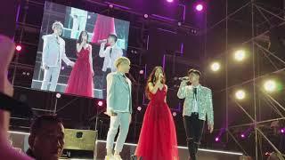 """Lần đầu tiên gia đình Hoa Dâm Bụt hát liv e """"Cứ yêu đi"""""""