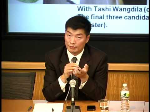 Election of the Kalon Tripa (Prime Minister): A Personal Perspective Lobsang Sangay
