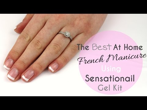 The Best French Manicure - Sensationail Gel Kit*
