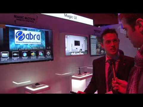 Preview tour of the LG stand at CES 2010