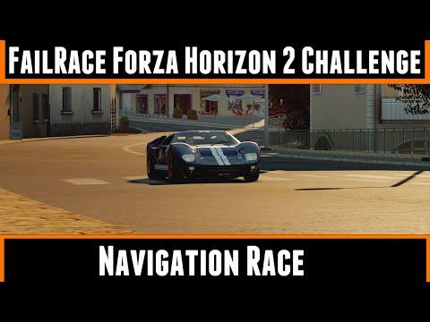 FailRace Forza Horizon 2 Challenge Navigation Race