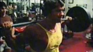 Arnold and Ed Corney- Squats