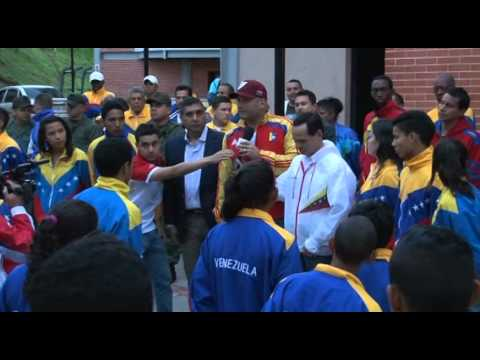 Ministro Antonio Álvarez ofrece apoyo al deporte tachirense