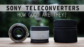 Sony 2x and 1.4x Teleconverters - How Good Are They!