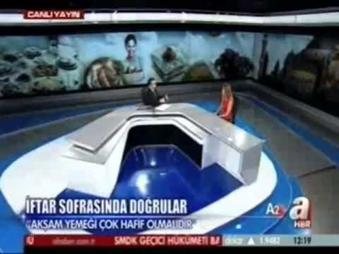 Dr.Ayşegül Çoruhlu ramazanda alkali beslenmeyi anlatıyor.