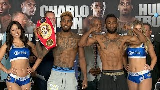JARRETT HURD VS. AUSTIN TROUT FULL WEIGH IN AND FACE OFF VIDEO
