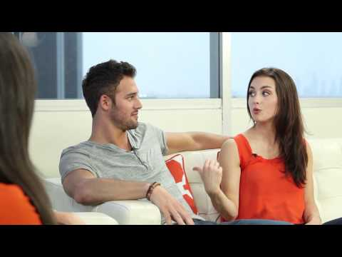 Ryan Guzman &amp; Kathryn McCormick - Step Up Revolution Interview