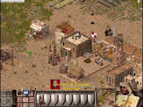 Stronghold Crusader Battle Against Wolf