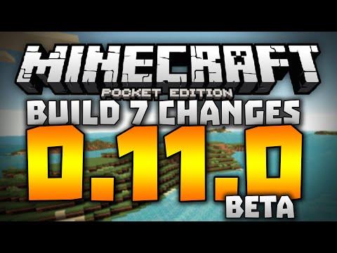 SKIN PACKS!?! - 0.11.0 Alpha Build 7 Changelog - Minecraft PE (Pocket Edition) 0.11.0 Beta