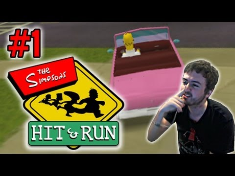 Simpsons Hit & Run: GTA Lite - FACECAM - Ep. 1 (Gameplay/Commentary)