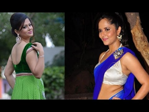 Telugu Hot Tv Anchor Shilpa Chakravarthy Follows Anasuya