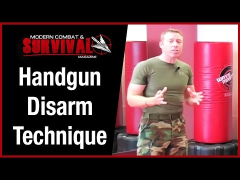 Handgun Disarm Technique For Self Defense - Timing