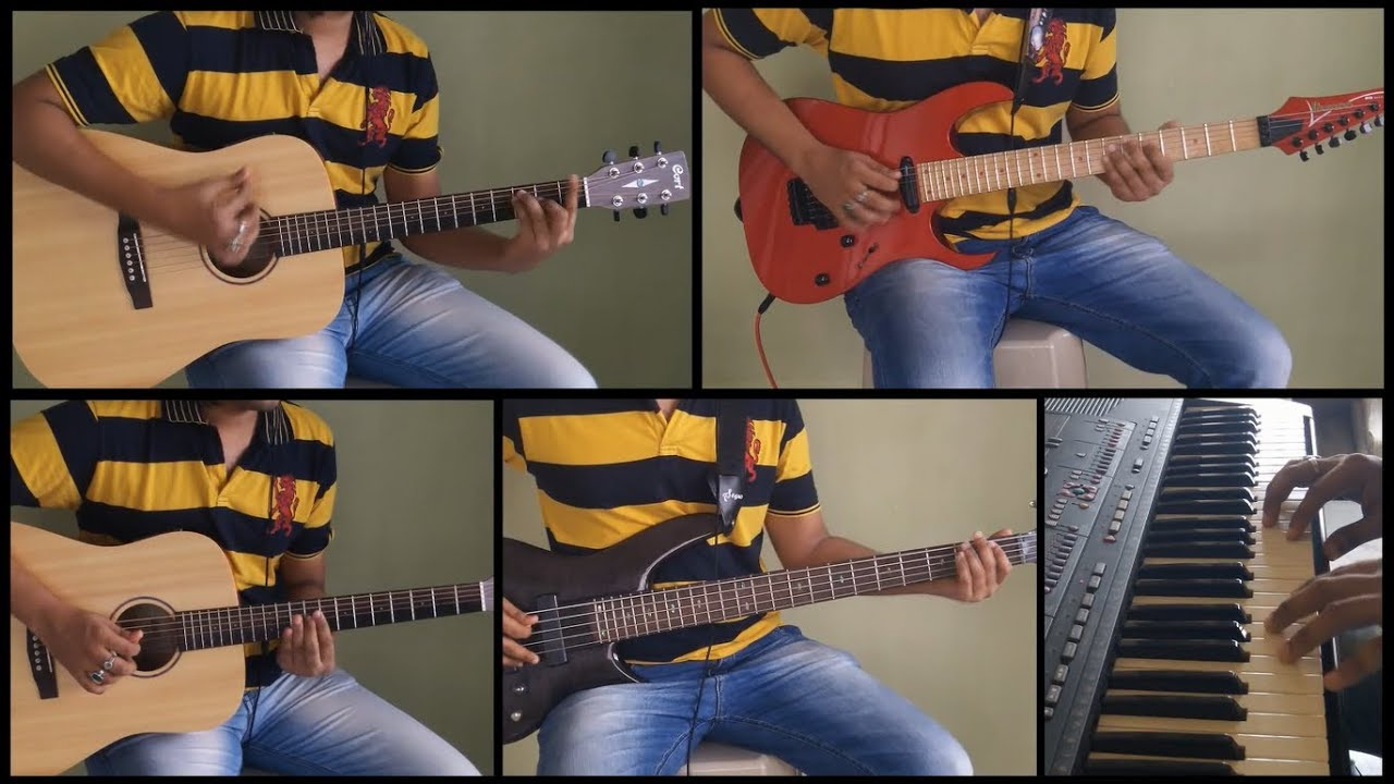 Chahun Main Ya Naa Guitar Cover - Aashique 2 - YouTube