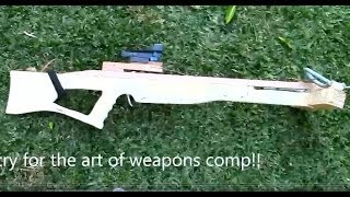 contest entry  the art of weapons homemade spear gun