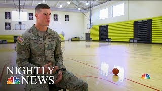 Basketball Star Turns In His NBA Jersey For An Army Uniform | NBC Nightly News