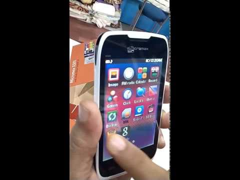 Micromax X501 Unboxing & Review