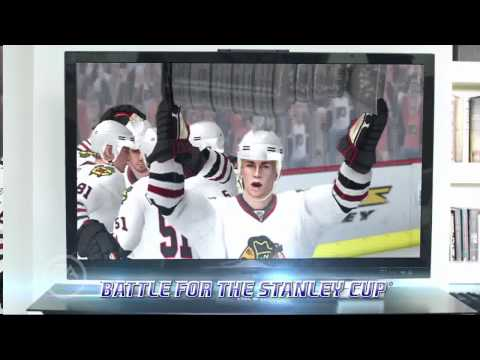 NHL Slapshot featuring Wayne Gretzky – Wii – official video game preview trailer HD
