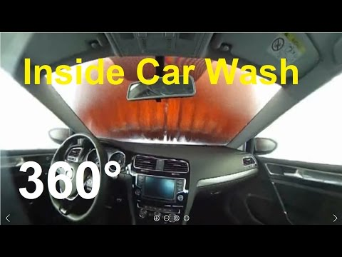 Inside Car Wash 360° Video VR Car Wash Auto Waschanlage Virtual Reality