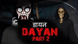 DAYAN - Part 2| Short Hindi Horror stories Animated film