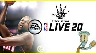 More NBA Live 20 Frostbite Engine Gameplay News Has Saved NBA 2K19 and NBA Live 19