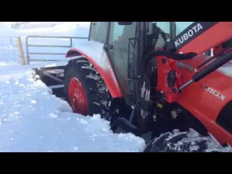 Agrotrend 4102D Dual Auger Snowblower at Herbert.Saskatchewan