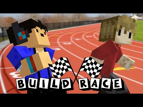 Speed Building! - Build Race w/ Grian