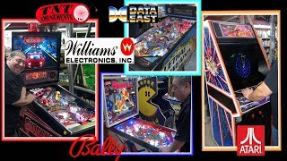 #1444 Williams GETAWAY-Bally POWER PLAY Pinball Machines-Atari TEMPEST Arcade Game-TNT Amusements
