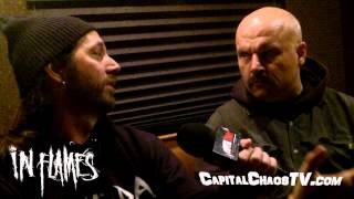 IN FLAMES / ENGEL's Niclas Engelin  interview