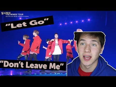 FIRST TIME LIVE!? | BTS 'Don't Leave Me' & 'Let Go' *LIVE* Performance REACTION