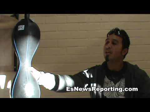 how to work double end bag - esnews boxing Image 1