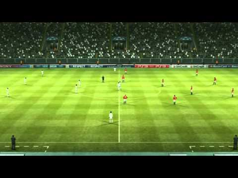 PES 2012 Uefa Champions League PC Gameplay