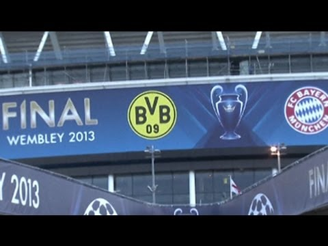 Champions League Final 2013 preparations