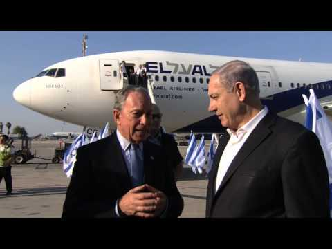 PM Netanyahu Welcomes Former Mayor of New York Michael Bloomberg