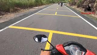 Winner 150 - Rượt đuổi Gây Cấn Trên Đèo Khánh Lê