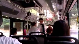 Ugly Singaporean - Push Old Lady of SMRT Bus