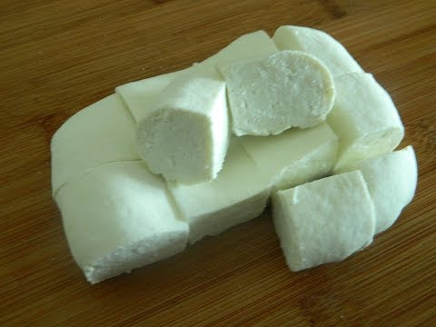 How To Make - Fresh Homemade Paneer (Cottage Cheese) - By Food Connection