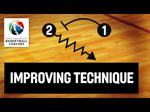 Basketball Coach Vlade Djurovic - Various Drills to Improve Basketball Technicque