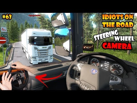 ★ IDIOTS on the road #63 - ETS2MP | Funny moments - Euro Truck Simulator 2 Multiplayer
