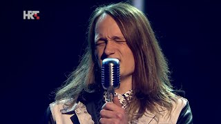 "Marin: ""Hallelujah"" - The Voice of Croatia - Season1 - Live2"