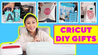 HOLIDAY DIY GIFT IDEAS USING CRICUT!