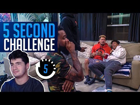 5-Second Rule Game! Funniest 2Hype Challenge EVER! Mopi...
