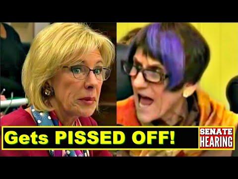 Betsy DeVos gets 'FerociousIy' GRILLED by Senator