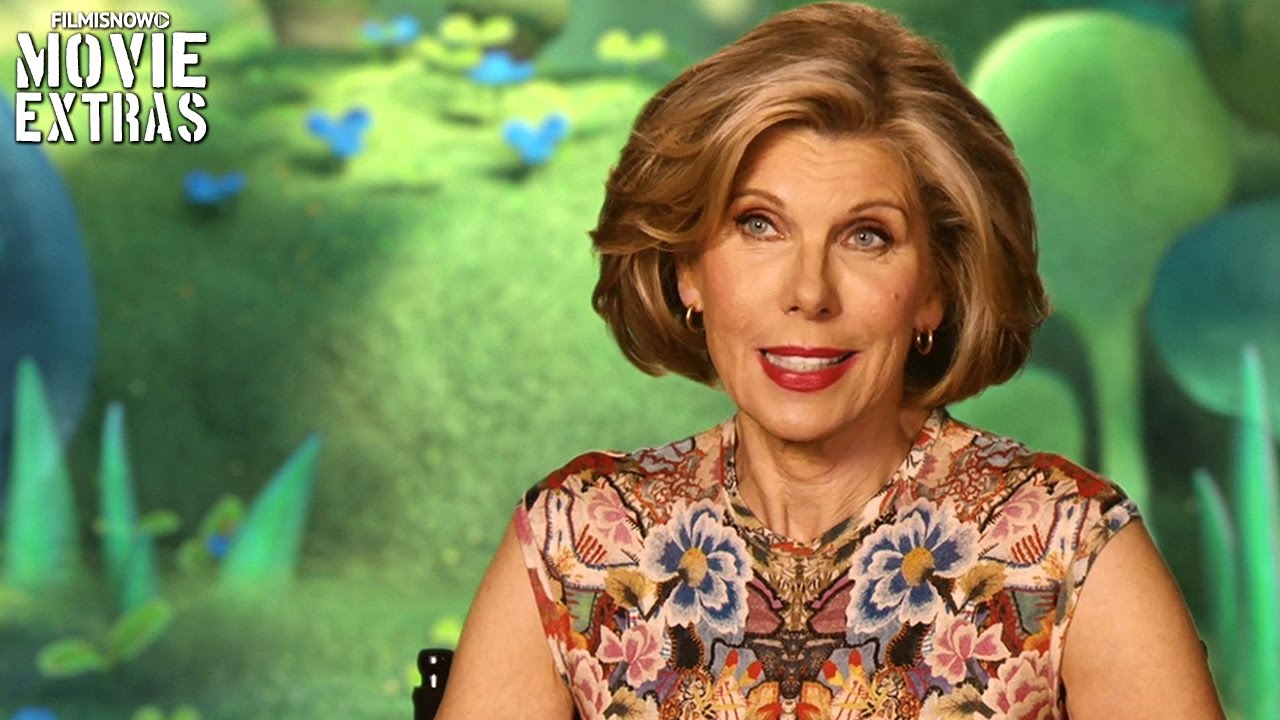 Trolls | On-set visit with Christine Baranski 'Chef'