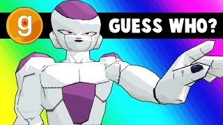 Gmod Guess Who  Dragon Ball Z Edition Garrys Mod Funny Moments