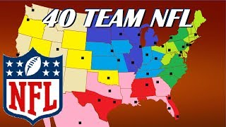 40 Team NFL Expansion and Realignment Proposal