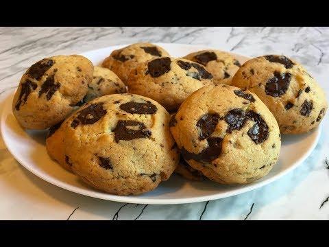 Печенье с Шоколадом / Американское Печенье / Chocolate Chunk Cookies Recipe / Простой Рецепт