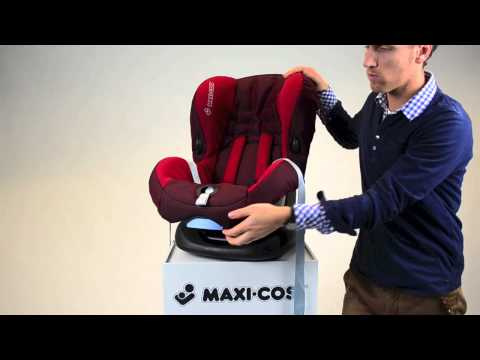 Maxi-Cosi Priori SPS Car Seat- How To Put On The Cover