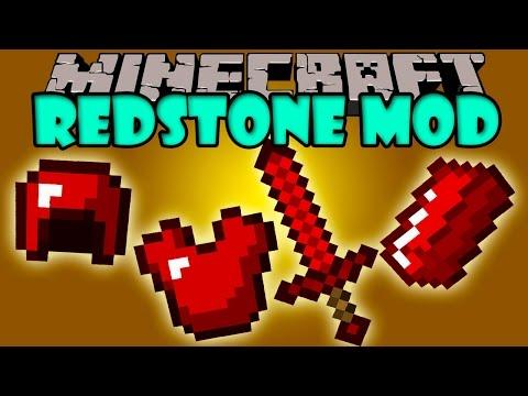 REDSTONE MOD - Herramientas y armaduras de Rekstone! - Minecraft mod 1.5.2 y 1.6.4 Revieww ESPAÑOL