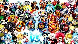 TURBO/CHO-Z vs GOD/EVOLUTION: Beyblade Burst TEAM Generation Battle!ベイブレードバースト 神vs超ゼツ 베이블레이드버스트초제트